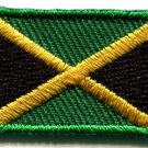 Flag of Jamaica applique iron-on patch Small S-110