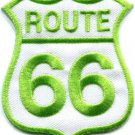 Route 66 retro muscle cars 60s americana USA applique iron-on patch S-279