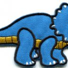 Triceratops dinosaur kids fun applique iron-on patch FREE SHIP, NO LIMIT! S-325