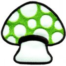 Mushroom boho hippie retro love peace weed trance applique iron-on patch S-62