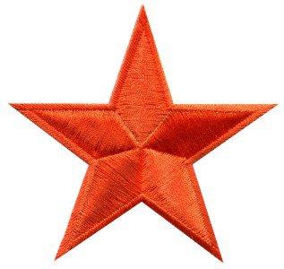 Star hippie 70s retro boho disco fab superstar applique iron-on patch new S-145
