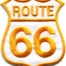 Route 66 retro muscle cars 60s americana USA applique iron-on patch S-278