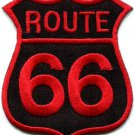 Route 66 retro muscle cars 60s americana USA applique iron-on patch S-270