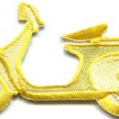 Motor scooter motorcycle cycle bike motorbike applique iron-on patch S-373