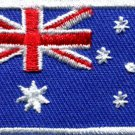 Flag of Australia Australian Oz Down Under applique iron-on patch Medium S-348