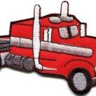 Transfer truck trucking trucker retro applique iron-on patch S-364 FREE SHIPPING WORLDWIDE!