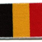 Flag of Belgium Belgian applique iron-on patch Small S-99