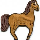Horse colt bronco filly mustang pony stallion steed applique iron-on patch S-558