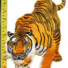 Tiger cat puma jaguar lion leopard animal iron-on patch XL 7 X 11.25 inches!