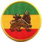 Lion of Judah flag rasta reggae rastafarian ganja applique iron-on patch G-48