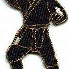 Ninja shinobi mercenary kung fu martial arts Japan applique iron-on patch S-244