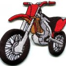 Motorcycle motocross racing dirt bike off-road applique iron-on patch new S-679