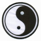 Yin Yang ying tao hippie hippy retro boho weed applique iron-on patch S-92