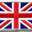 Union Jack British flag United Kingdom Great Britain applique iron-on patch S102