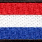 Flag of the Netherlands Dutch Amsterdam applique iron-on patch Medium S-782