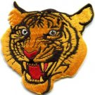 Tiger animal wildlife applique iron-on patch small FREE SHIP, NO LIMIT! S-238