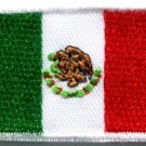 Flag of Mexico Mexican bandera embroidered applique iron-on patch Medium S-347