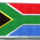 Flag of South Africa applique iron-on patch med S-108