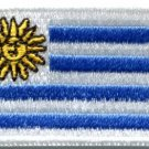 Flag of Uruguay sun of may South America applique iron-on patch med. new S-385