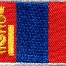 Flag of Mongolia Mongolian Genghis Khan applique iron-on patch new Medium S-781
