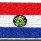 Flag of Paraguay South American America applique iron-on patch new Medium S-778