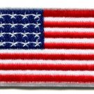 American flag Old Glory Stars & Stripes applique iron-on patch Medium new S-100