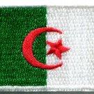 Flag of Algeria Algerian Algiers Africa applique iron-on patch new Medium S-765