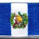 Flag of Guatemala Guatemalan South America applique iron-on patch Medium S-769
