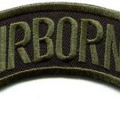 Airborne army rangers military insignia biker applique iron-on patch new S-1074