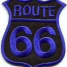 Route 66 retro muscle cars 60s americana USA applique iron-on patch new S-505
