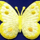 Butterfly insect boho hippie retro love peace applique iron-on patch new S-515