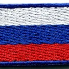 Russian flag Russia applique iron-on patch new sm S-114