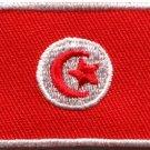 Flag of Tunisia Tunisian Arab Arabic Arabian applique iron-on patch Med. S-841