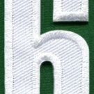 Number 6 numeral math counting six school applique iron-on patch new S-941