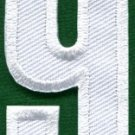Number 9 numeral math counting nine school applique iron-on patch new S-944