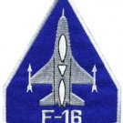 F-16 fighting falcon USAF air force jet aircraft applique iron-on patch S-618