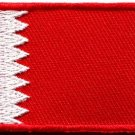 Flag of Bahrain flag Bahraini sewing applique iron-on patch Medium new S-1066