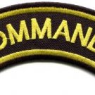 Commando elite infantry military war biker retro applique iron-on patch S-1071