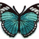 Butterfly hippie retro boho love peace embroidered iron-on patch S-164