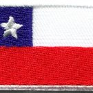 Flag of Chile Chilean South America applique iron-on patch new Medium S-786
