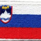 Flag of Slovenia Slovenian Central Europe applique iron-on patch Medium S-780