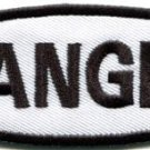 Danger sign signal warning caution alert applique iron-on badge patch new S-789