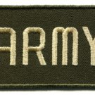 Army military insignia rank war biker retro applique iron-on patch new S-635
