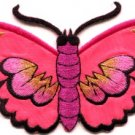 Butterfly insect boho hippie retro love peace applique iron-on patch new S-458