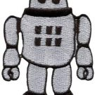 Robot android cyborg bionic automaton sci-fi applique iron-on patch new S-294