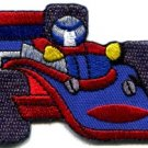 Sports car racing race exotic formula one 1 retro applique iron-on patch S-898