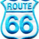 Route 66 retro muscle cars 60s americana USA applique iron-on patch new S-276