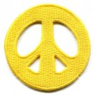 Peace sign hippie retro summer of love boho chic applique iron-on patch new S-19