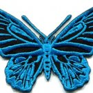 Butterfly hippie retro 70s applique iron-on patch S-174