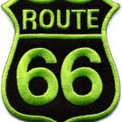 Route 66 retro muscle cars 60s americana USA applique iron-on patch new S-281